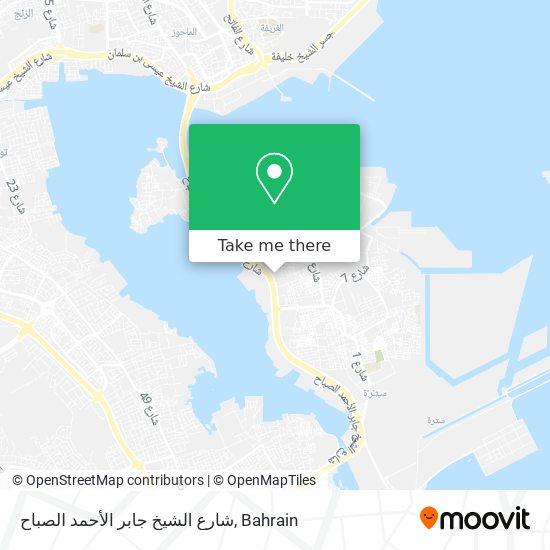 شارع الشيخ جابر الأحمد الصباح map