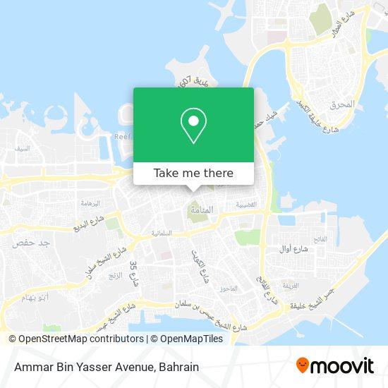 Ammar Bin Yasser Avenue map