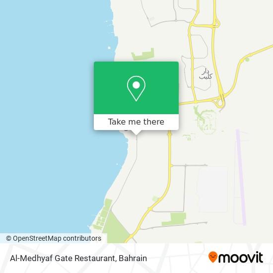Al-Medhyaf Gate Restaurant map