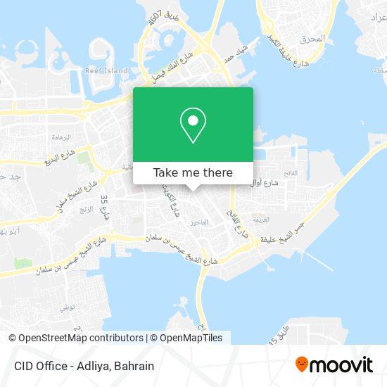 CID Office - Adliya map