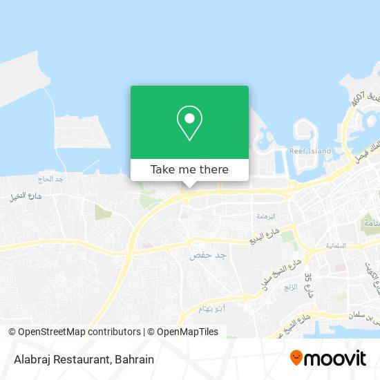 Alabraj Restaurant map