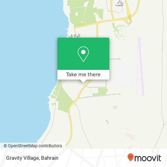 Gravity Village map