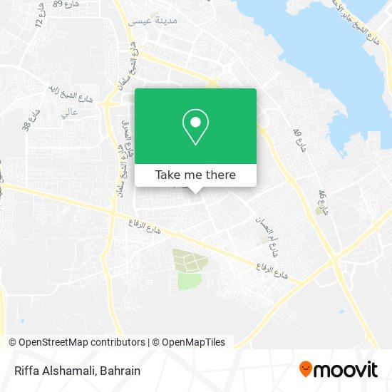 Riffa Alshamali map