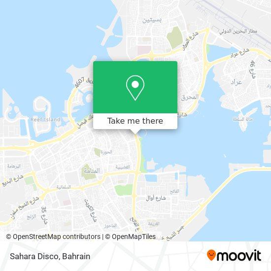 Sahara Disco map