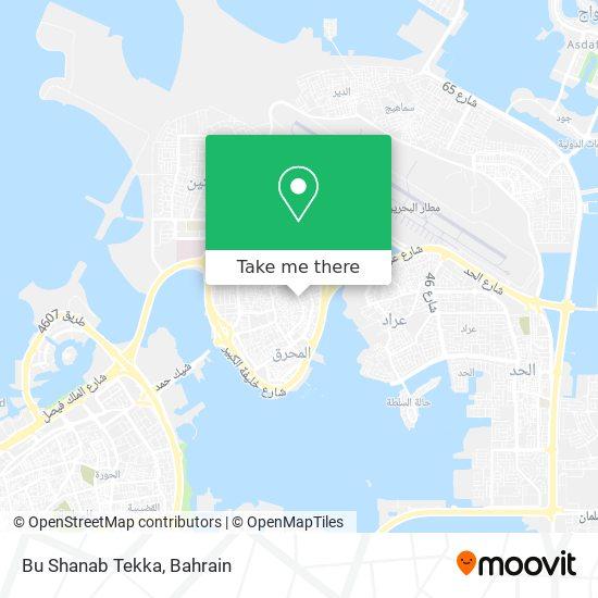 Bu Shanab Tekka map