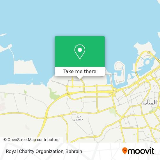 Royal Charity Organization map