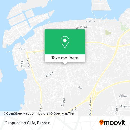 Cappuccino Cafe, طريق 1711 مجمع 517, سار map