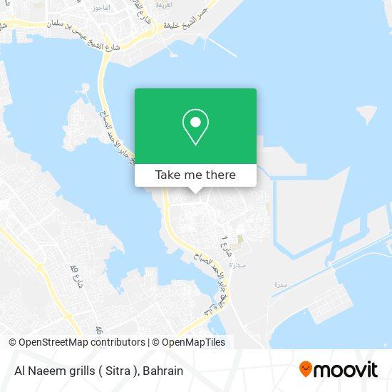 Al Naeem grills ( Sitra ) map