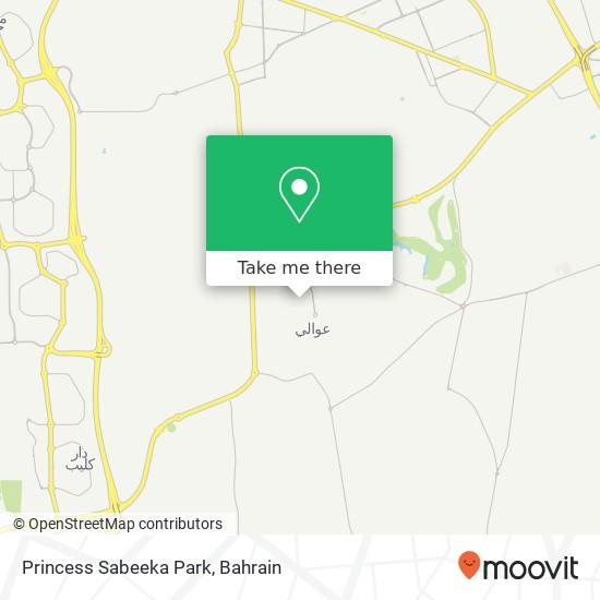 Princess Sabeeka Park map