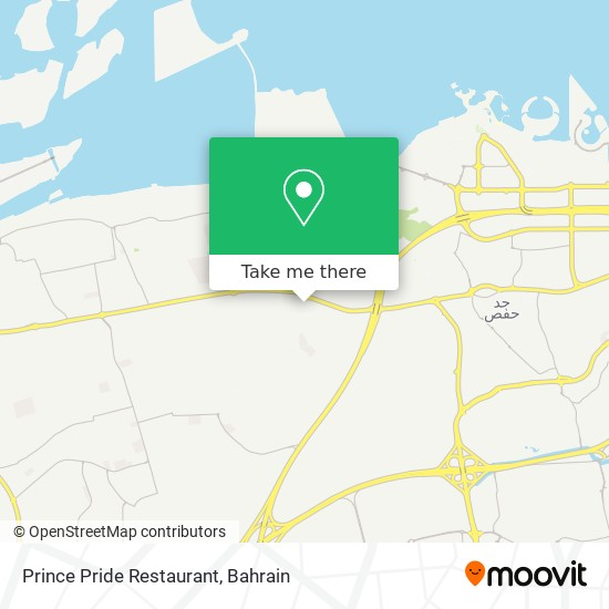 Prince Pride Restaurant map