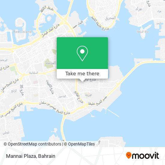 Mannai Plaza map