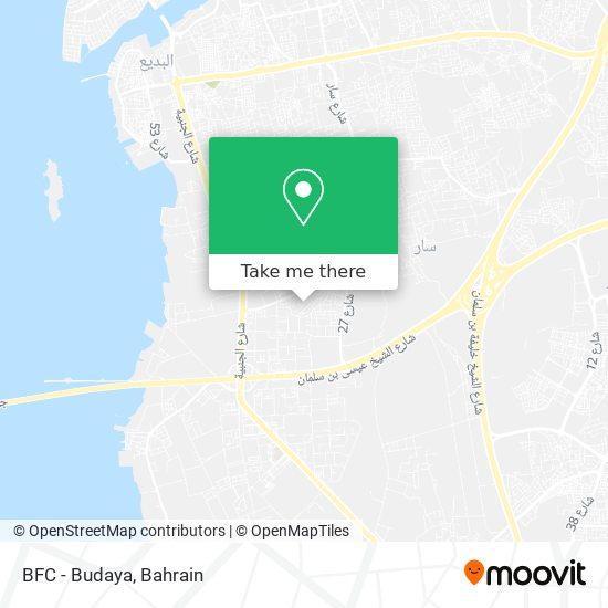 BFC - Budaya map