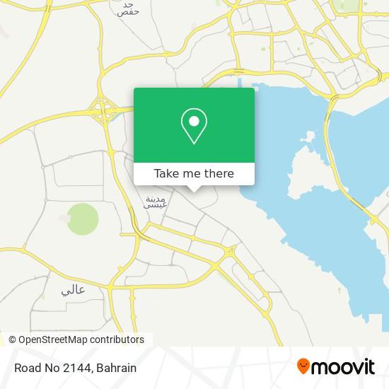 Road No 2144 map
