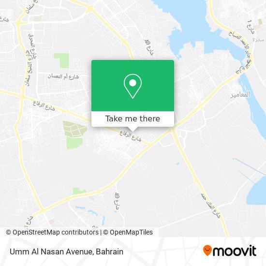 Umm Al Nasan Avenue map