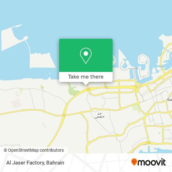 Al Jaser Factory map