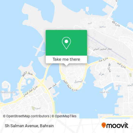 Sh Salman Avenue map