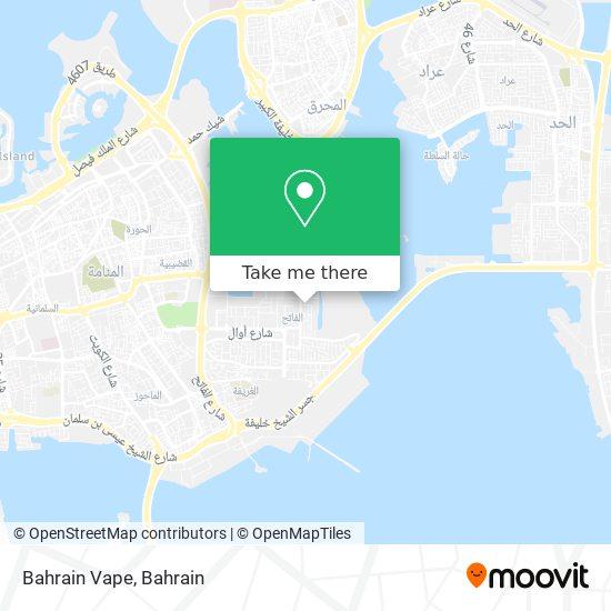 Bahrain Vape map