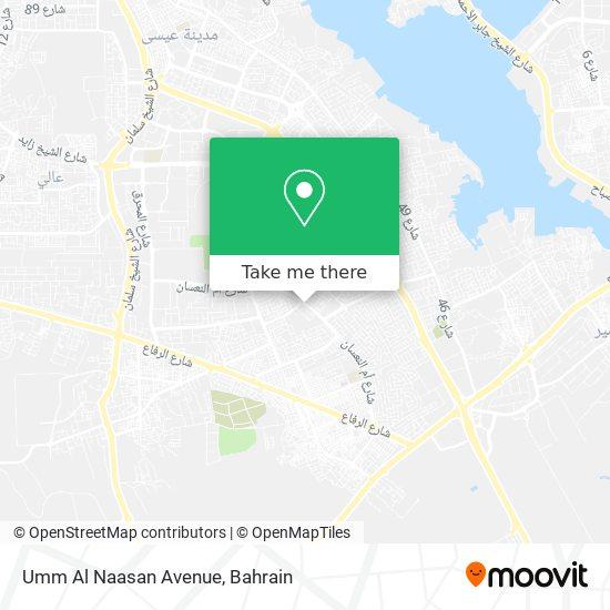 Umm Al Naasan Avenue map