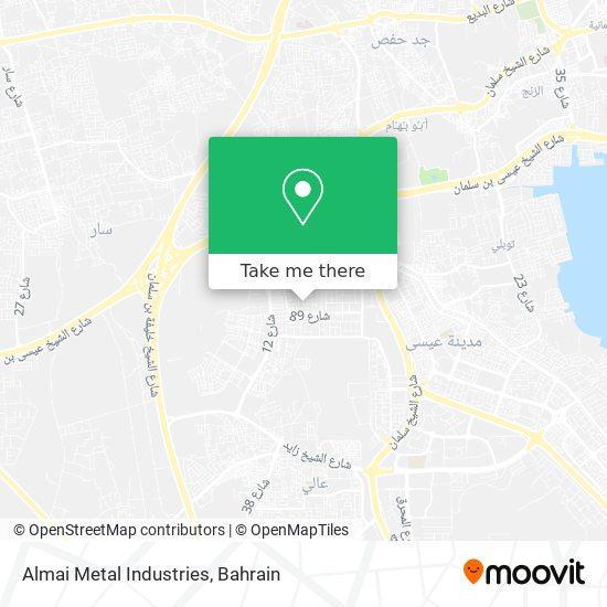 Almai Metal Industries map