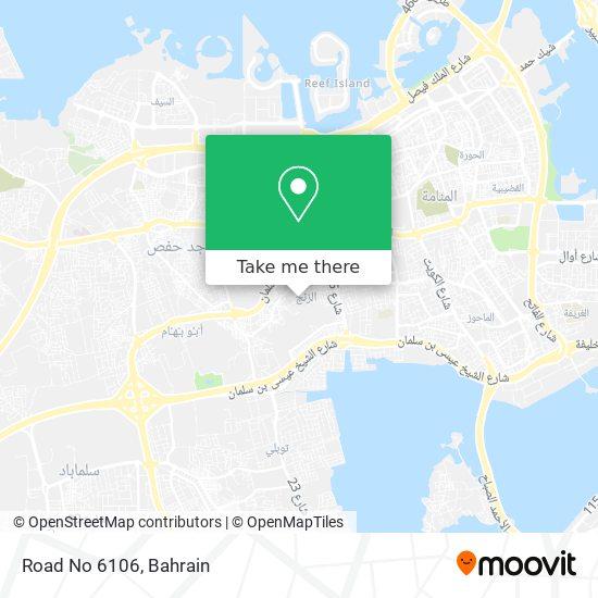 Road No 6106 map