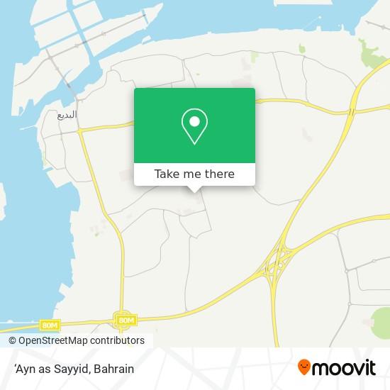 'Ayn as Sayyid map
