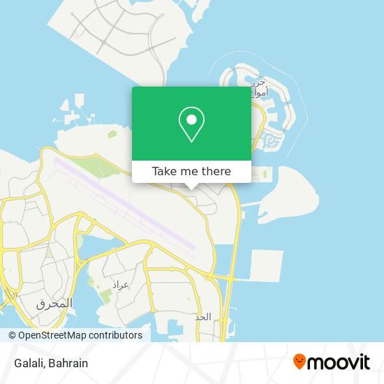 Galali map