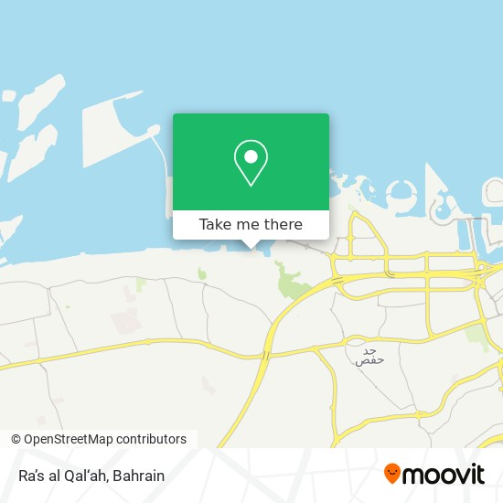 Ra's al Qal'ah map