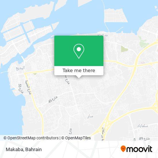 Makaba map