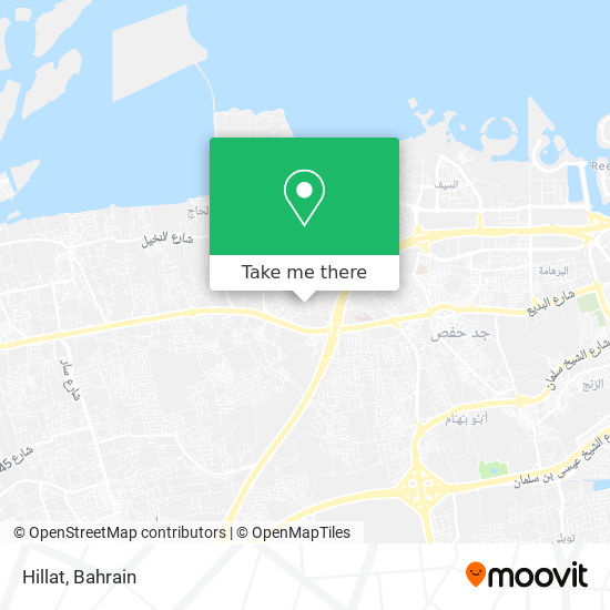 Hillat map