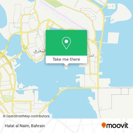Halat al Naim map