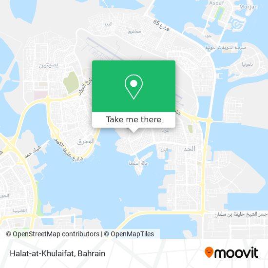 Halat-at-Khulaifat map