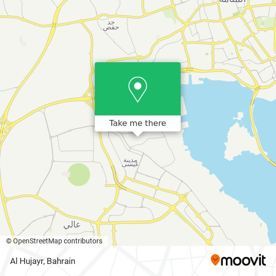 Al Hujayr map