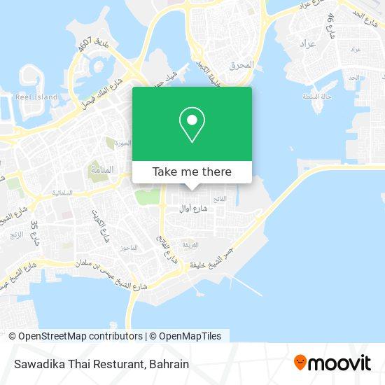 Sawadika Thai Resturant map