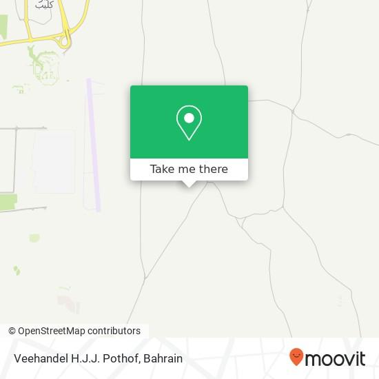 Veehandel H.J.J. Pothof map