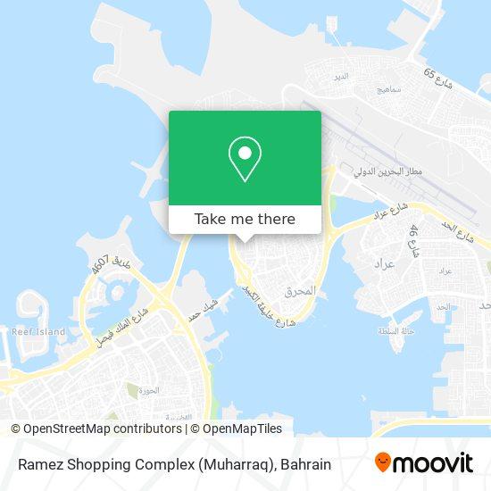 Ramez Shopping Complex (Muharraq) map