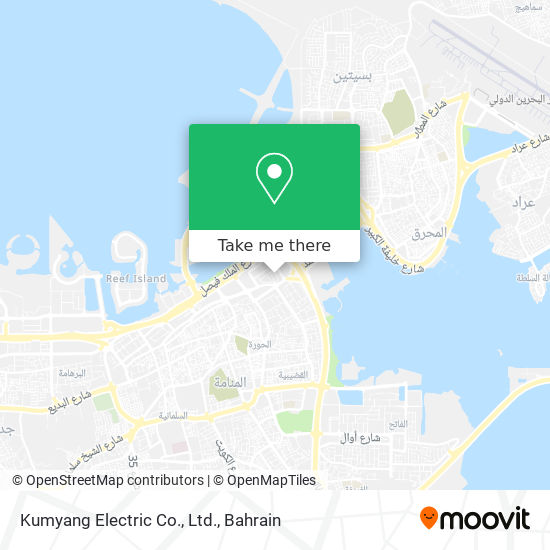 Kumyang Electric Co., Ltd. map