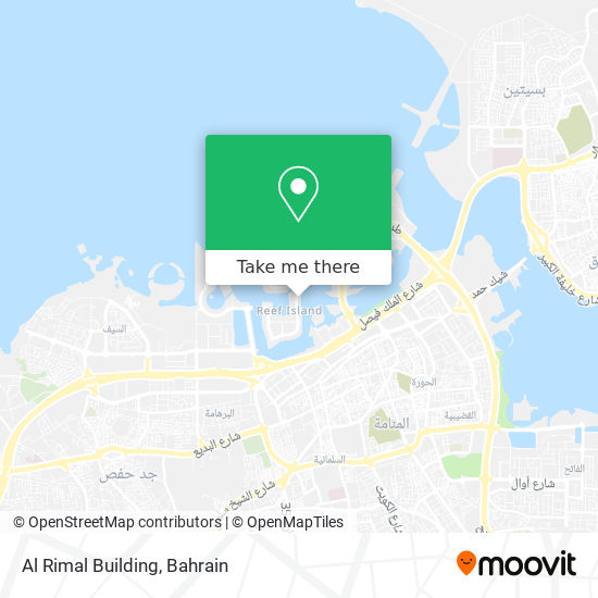 Al Rimal Building map