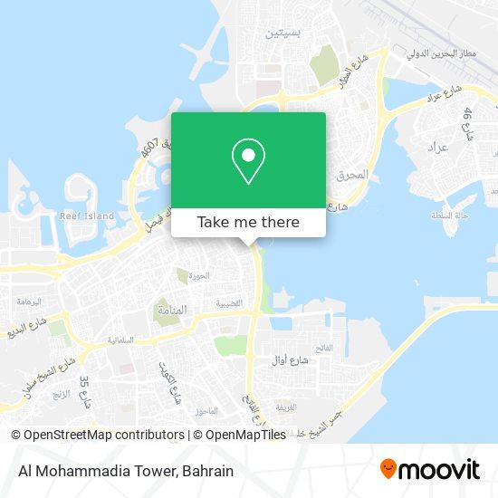 Al Mohammadia Tower map
