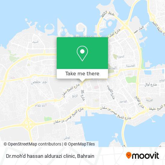 Dr.moh'd hassan aldurazi clinic map