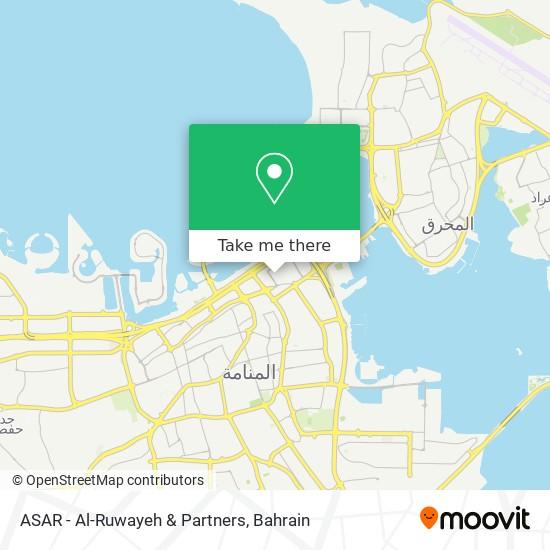 ASAR - Al-Ruwayeh & Partners map