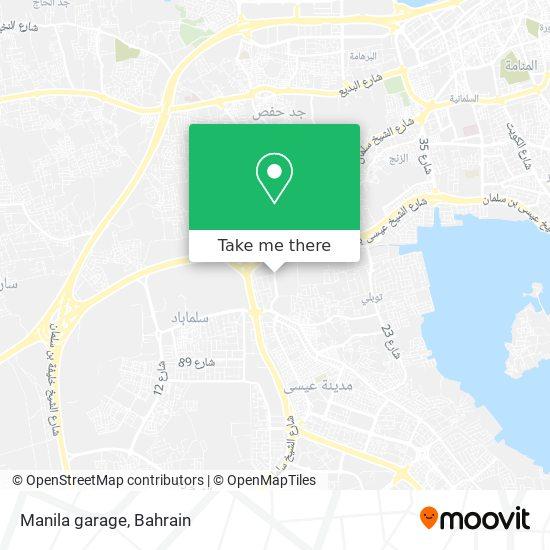 Manila garage map
