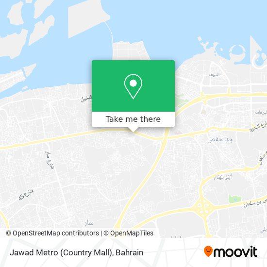 Jawad Metro (Country Mall) map