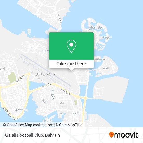 Galali Football Club map