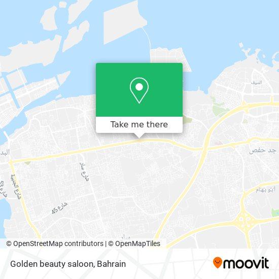 Golden beauty saloon map