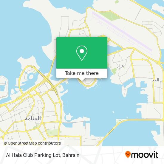 Al Hala Club Parking Lot map