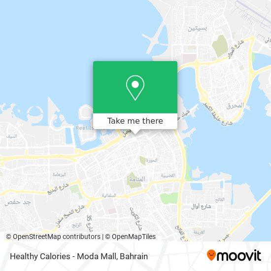 Healthy Calories - Moda Mall map