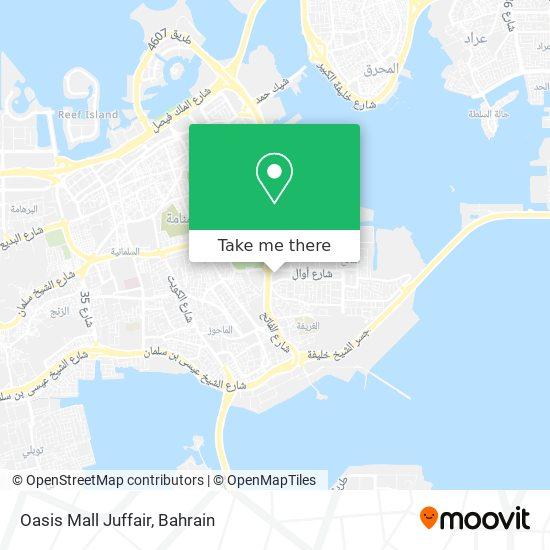 Oasis Mall Juffair map