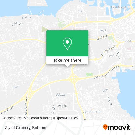 Ziyad Grocery map