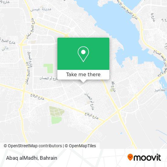 Abaq alMadhi map