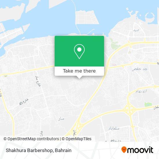 Shakhura Barbershop map